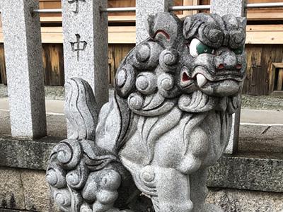 狛犬大阪松原市天満宮阿保神社